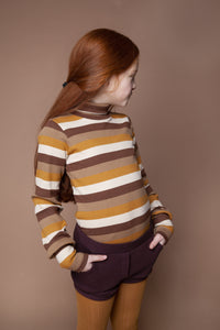Turtle Neck Multi Color Adult