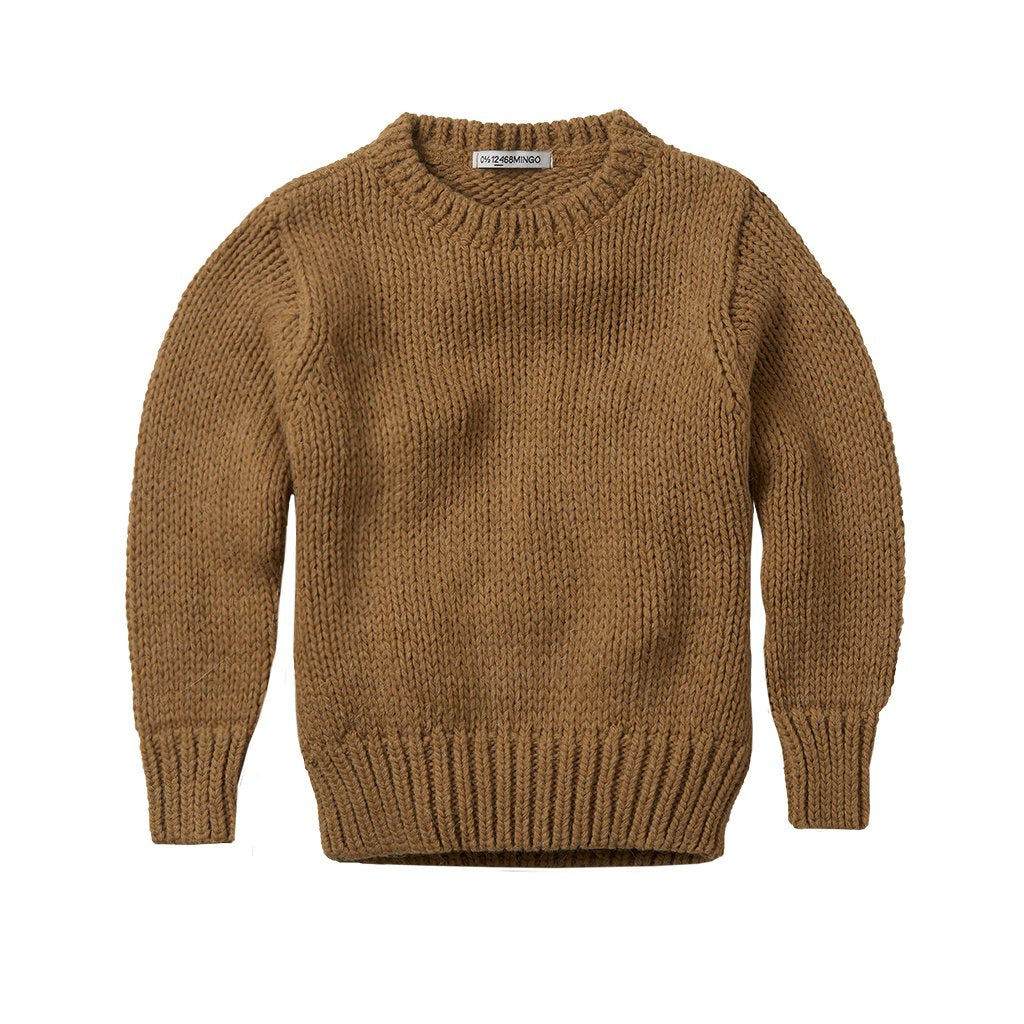 Sweater Knit Sand Adult