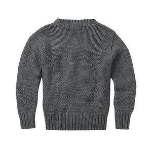 Sweater Knit Grey Adult