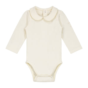 Onesie With Collar Cream