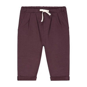 Trousers Pleated Baby Plum