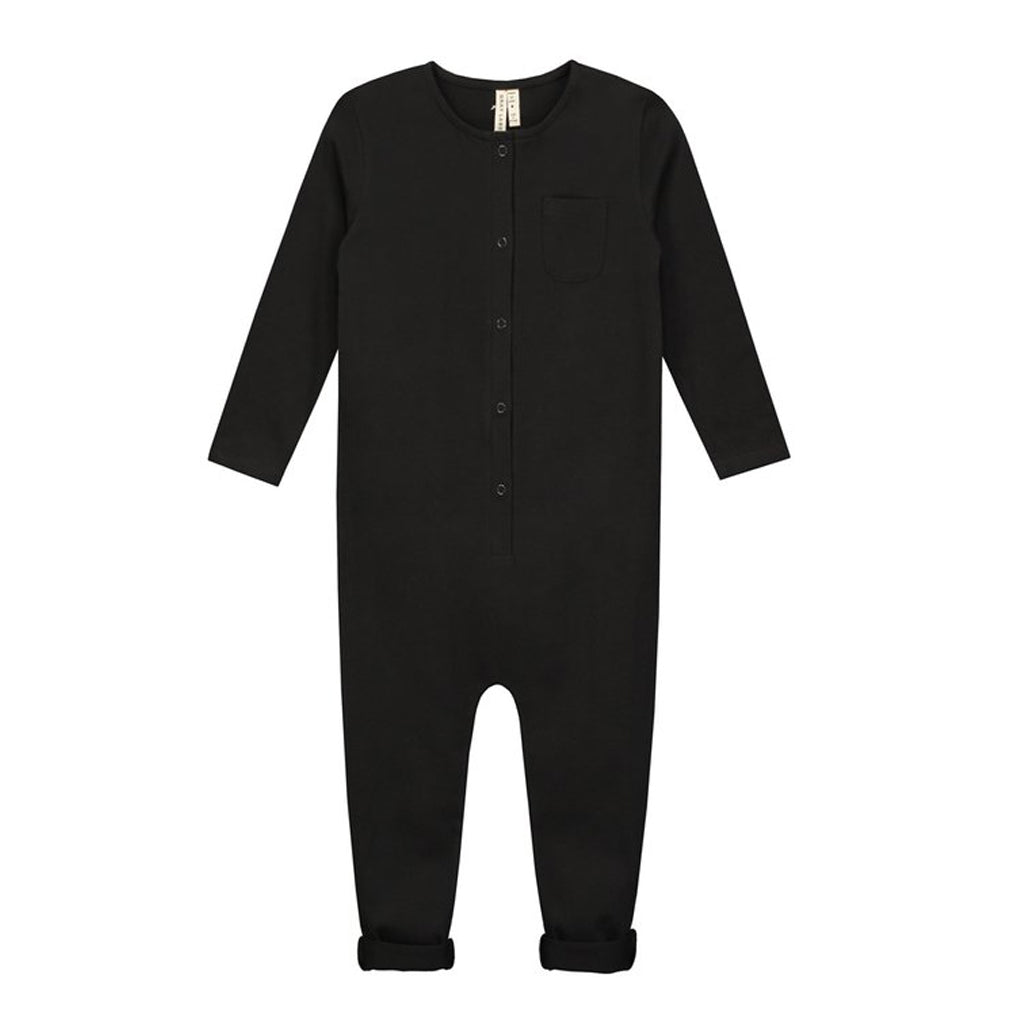 Playsuit Long Sleeve Nearly Black
