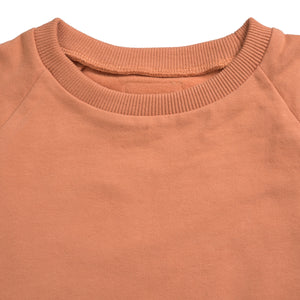 Sweatdress Ruth Copper