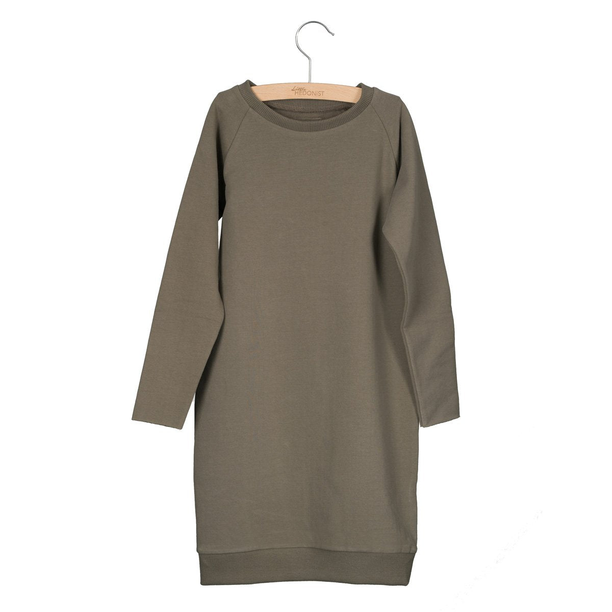 Sweatdress Ruth Warm Grey / Taupe