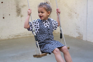 Dress Riley Leopard Soft Dusk