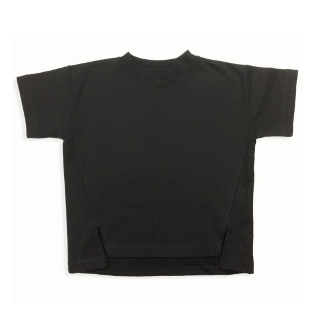 Sweat Tee Washed-Black