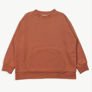 Shirt Wide Sweat Clay