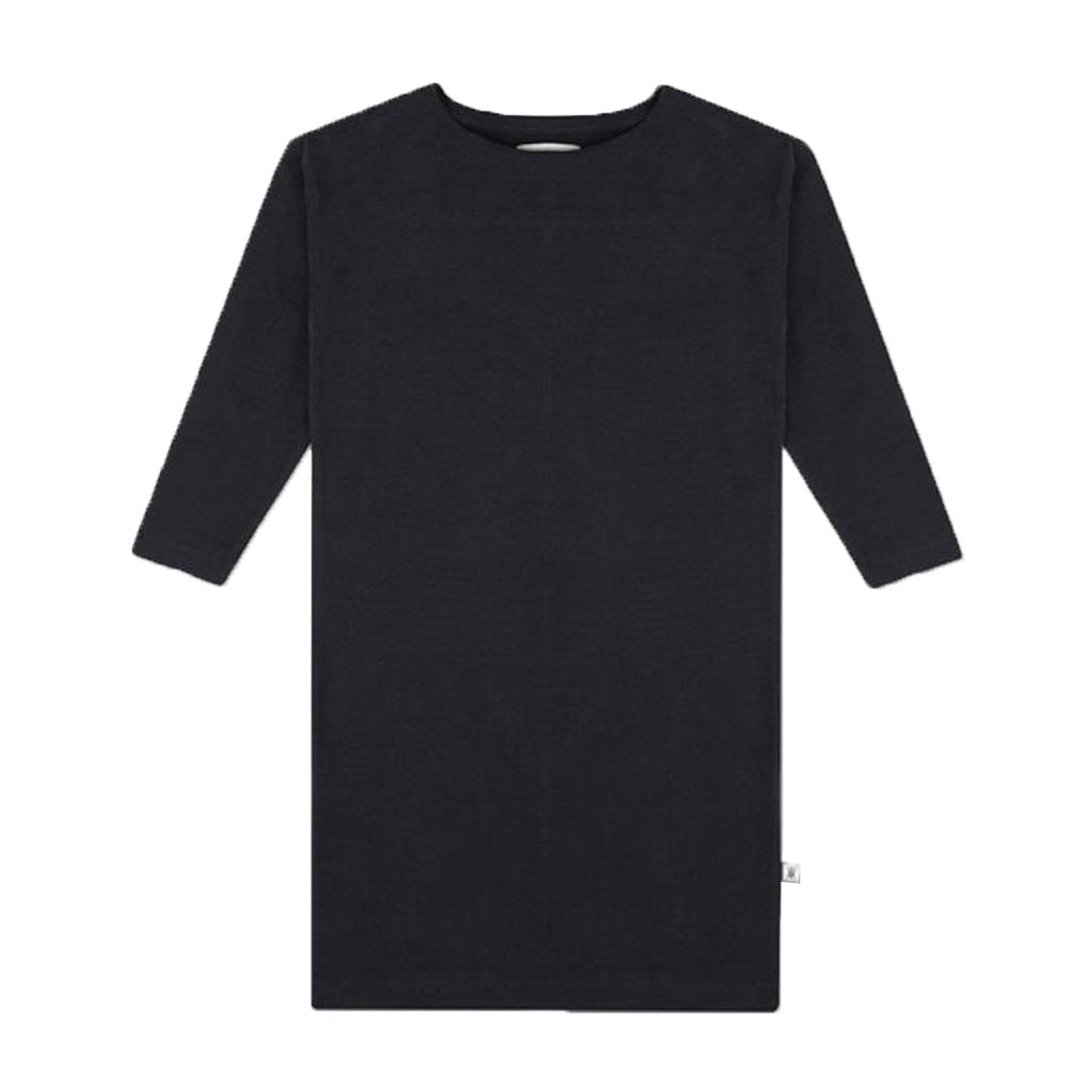 T-Shirt Dress Dark Night Black