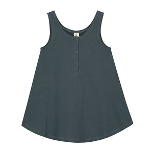 Tank Dress Blue Grey