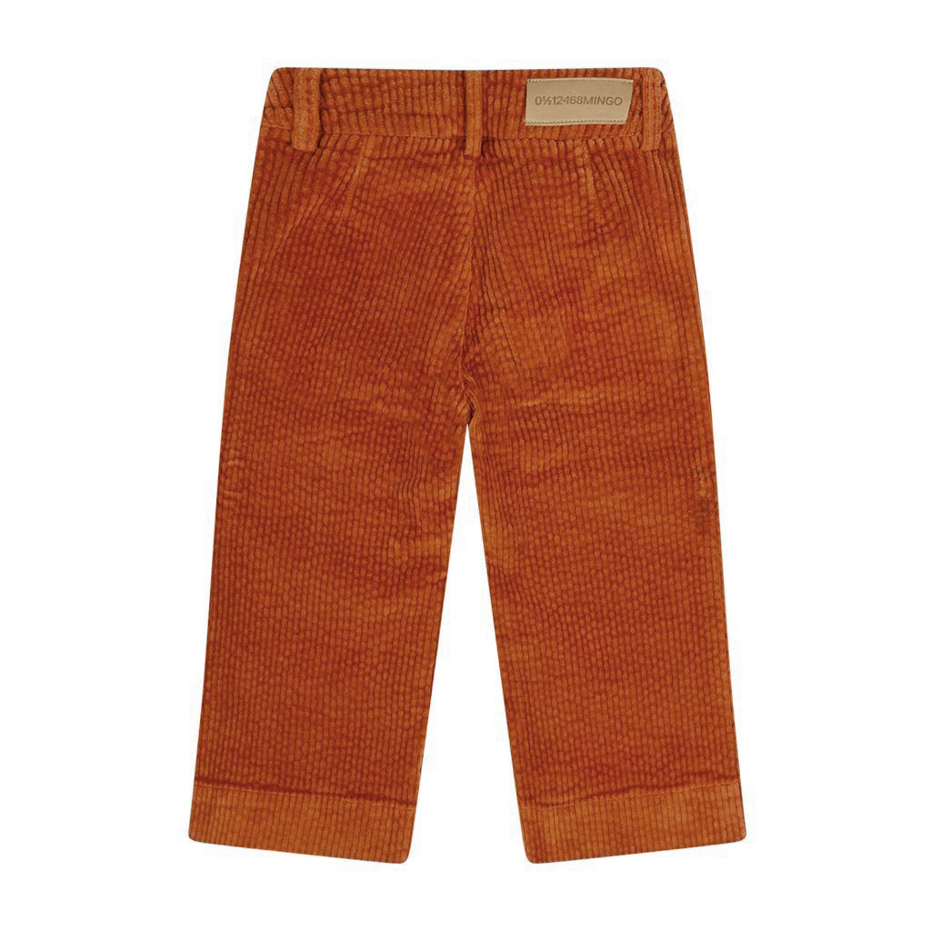 Trouser Wide Curduroy Cinnamon