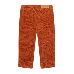 Trouser Tapered Corduroy Leather Brown