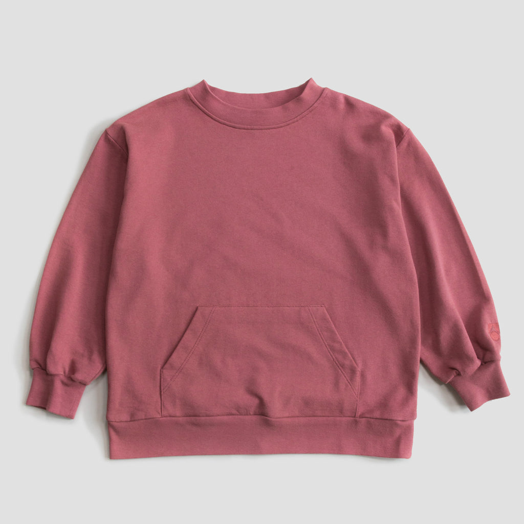 Sweatshirt Wide Red Apple