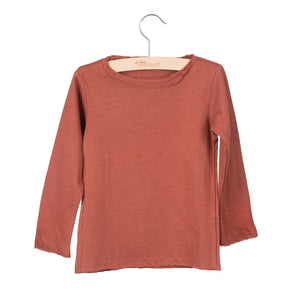 Long Sleeve Elana Marsala