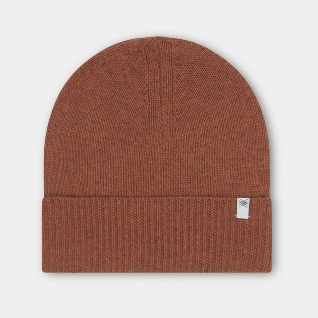 Hat Knitted Stone Brown