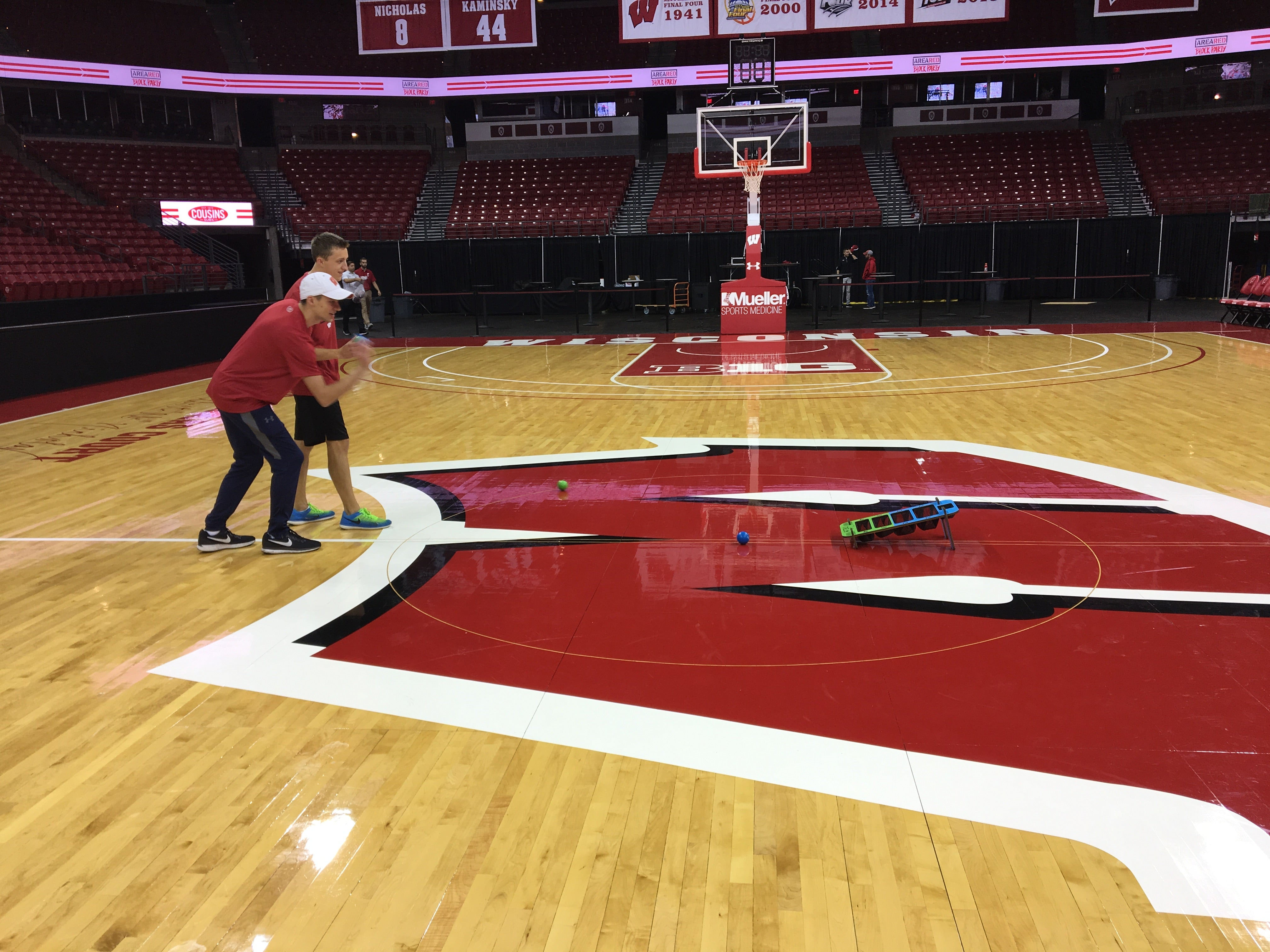 Playing DELU at the Kohl Center