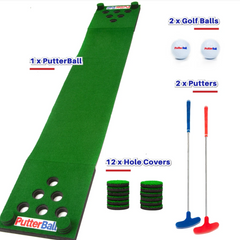PutterBall indoor or outdoor labor day game