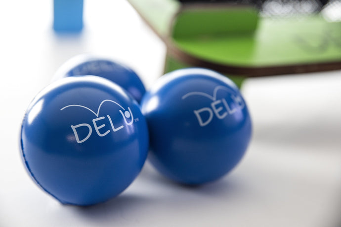 Extra Set of DELU™ Balls (Comes as a Set of 3 or 6 Balls. Choose Your Color) - DELU Games