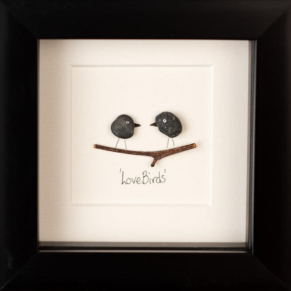 Mourne Pebble - Love Birds