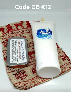 Aromatherapy Hand Cream and Soap Christmas Gift Bag