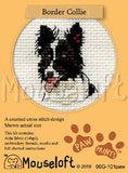 Border Collie Cross Stitch Kit