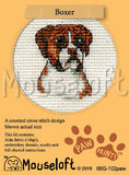 Boxer Cross Stitch Kit