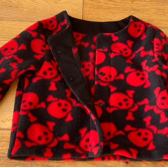 Child Halloween Fleece Jacket