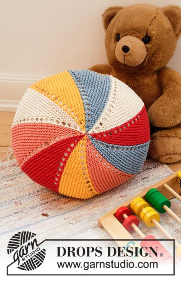 Colour Wheel Pillow Knitting Yarn Pack