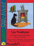 Cosy WoodBurner Christmas Cross Stitch Kit