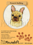 French Buldog Cross Stitch Kit