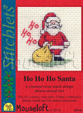 Ho Ho Ho Santa Christmas Cross Stitch kit