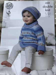 Baby Double Knitting Pattern