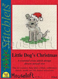 Little Dog Christmas Cross Stitch Kit