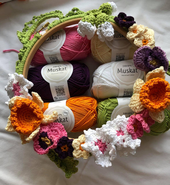 Basic Spring Garland Kit in Muskat