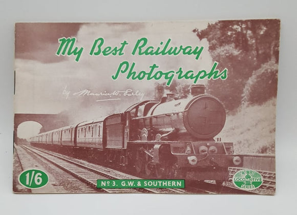 My Best Railway Photographs Book No.3