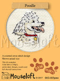 Poodle Cros Stitch kit