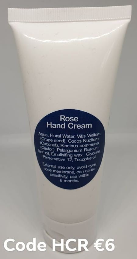Aromatherapy Rose Hand Cream