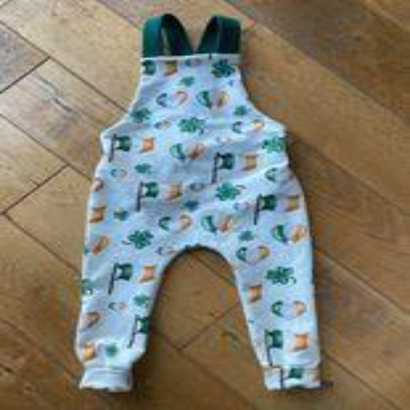 St. Patrick's Day Cross Back Overalls