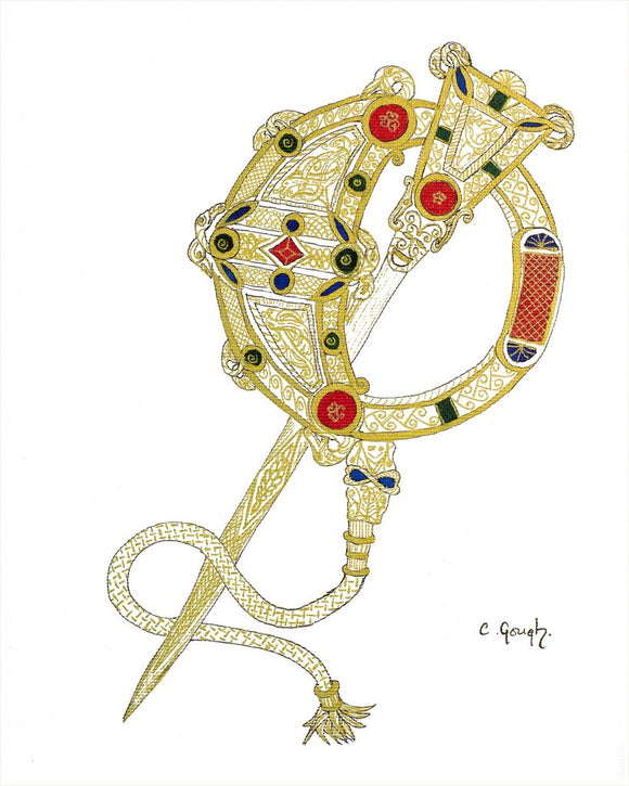Colette Gough Prints - Tara Brooch