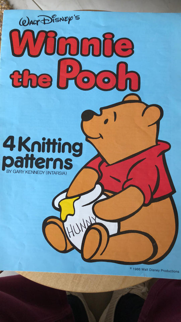 Winnie the Pooh 4 Knitting patterns