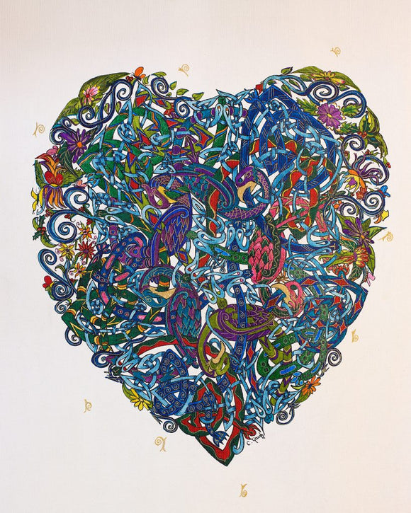 Colette Gough Prints - Heart