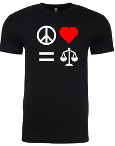 Peace Love Equality Justice