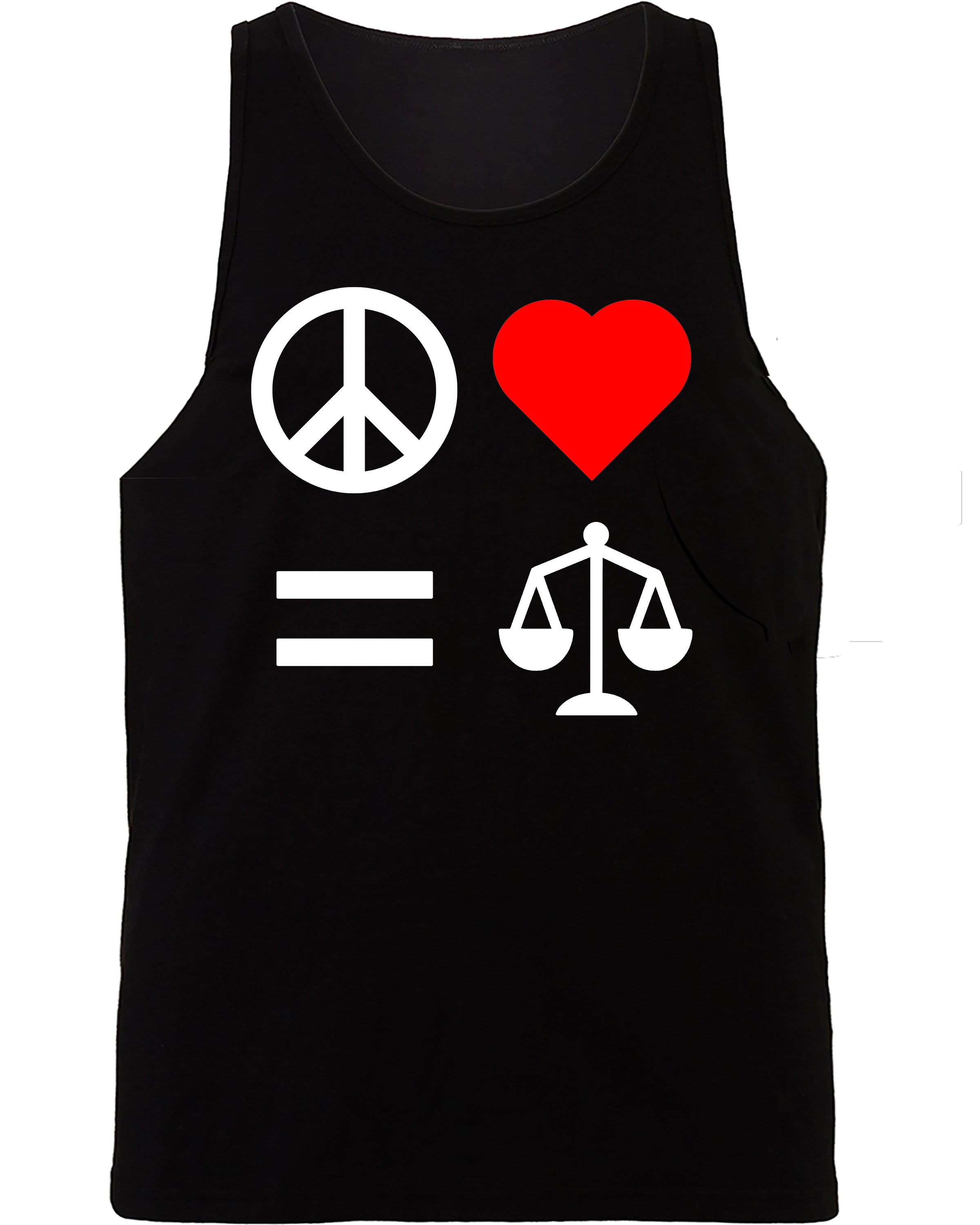 Peace Love Equality Justice Tank