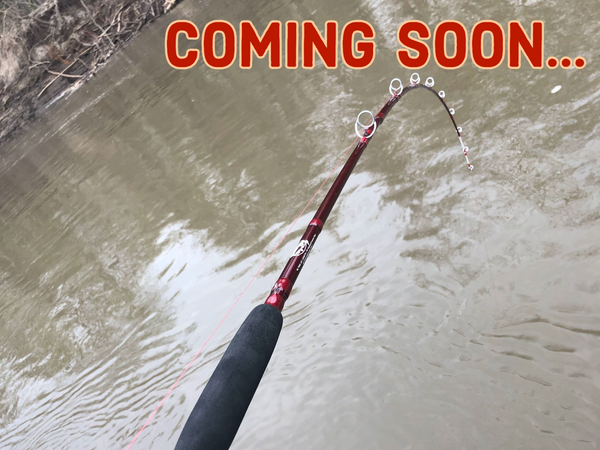 "7' 6"" Super Cat Medium Light Casting DipBait/Crawler Rod (2- Piece)   (Click the link to be Notified when item comes back in stock!)"