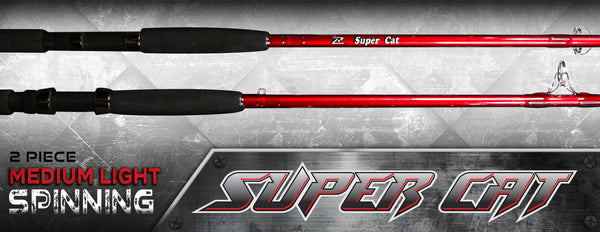 Super Cat Medium Light Spinning (2- Piece) 7'6""