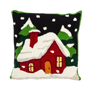 Hooked Pillow, Holiday Home
