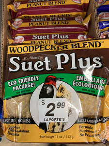 Woodpecker Blend Suet - 11oz