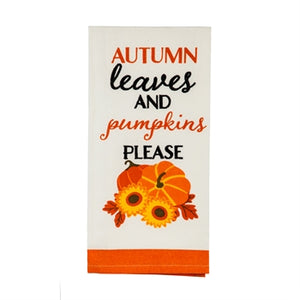 Tea Towel, Fall Harvest