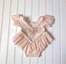 Load image into Gallery viewer, Arianna Romper in Light Blush