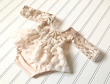 Load image into Gallery viewer, Paris Dress in Light Blush and Ivory