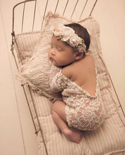 Load image into Gallery viewer, Kennedy Lace Romper in Ivory